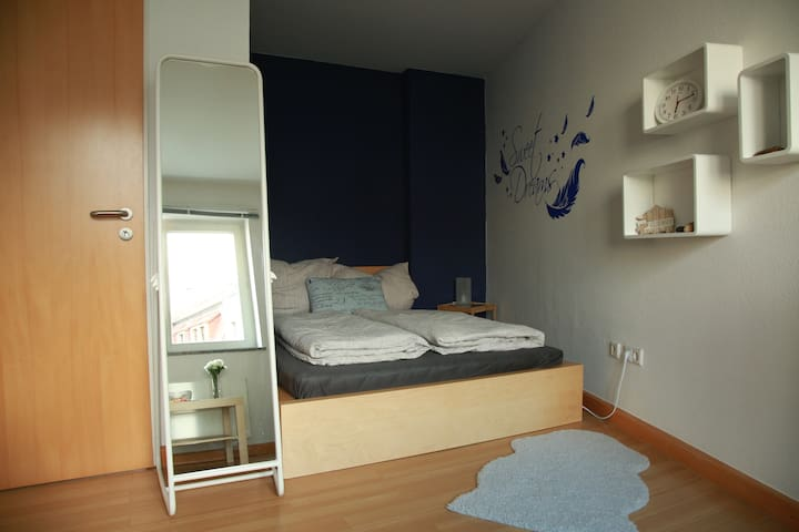 Bright room - Central in the city + Bath & Kitchen - Dresden - Pis