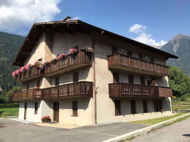 Pinzolo max 9 beds, parking and bicycles - Pinzolo - Appartement