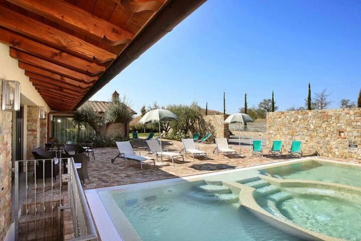 Farmhouse with pool, whirlpool, all inclusive* - Montaione - Villa