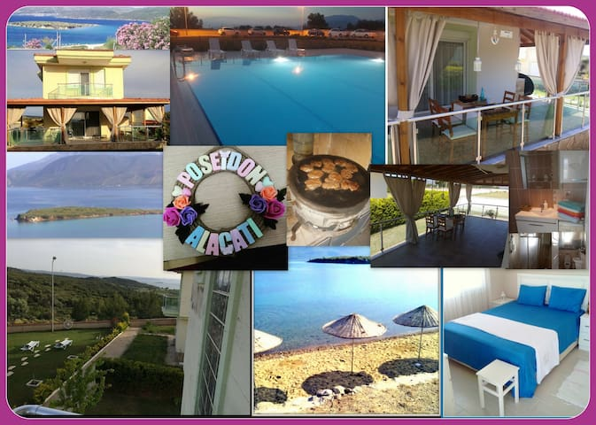 VİLLA POSEİDON POOL AND 7 PEOPLE - Çeşme - Villa