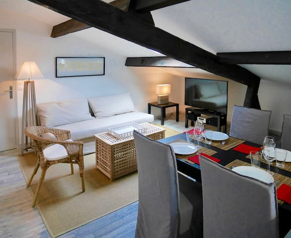 New charming & light flat in the heart of Bergerac - 貝爾熱拉克(Bergerac)
