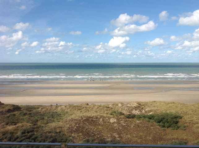 Relaxing 4p appt with stunning view ! - De Panne - Apartamento