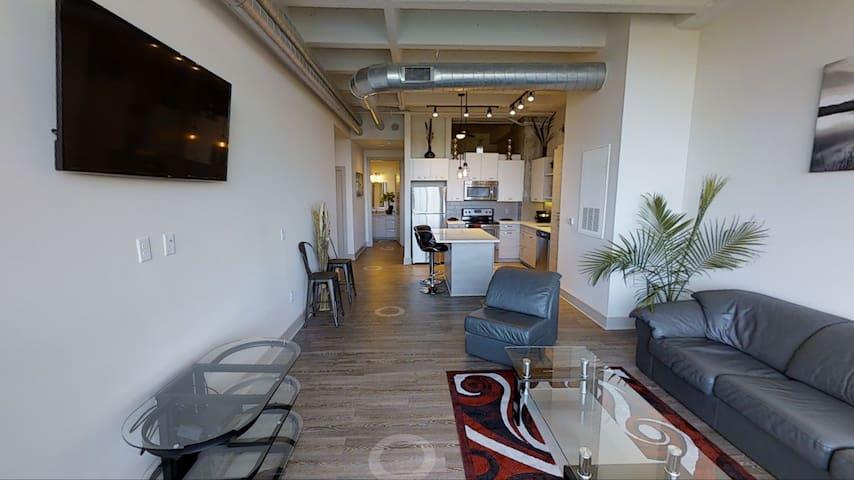 Comfy-Luxurious Downtown Loft style apartment - Atlanta - Leilighet