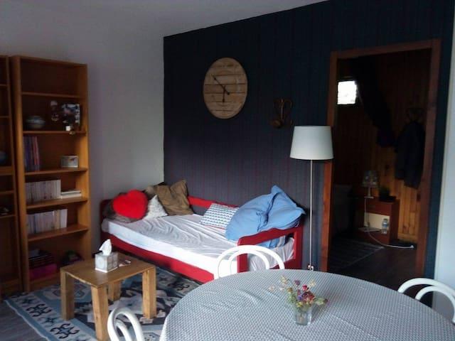 Appart 35m² proche de Saint Lary, ski, rando, cure - Guchen - Apartament