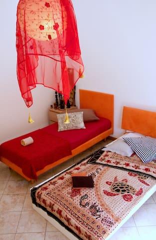 OnTheBorder with Italy - 2 single bed in S.Marino - Dogana - Apartamento