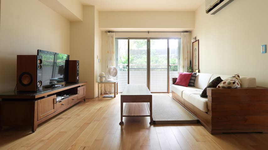 Double private room , airport pick up service - Taoyuan District - Huoneisto