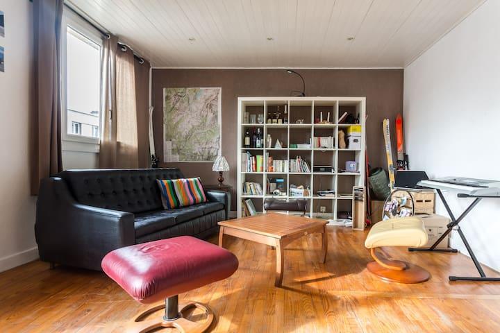 Chambre privée Grenoble (Proche Stade des Alpes) - Grenoble - Leilighet