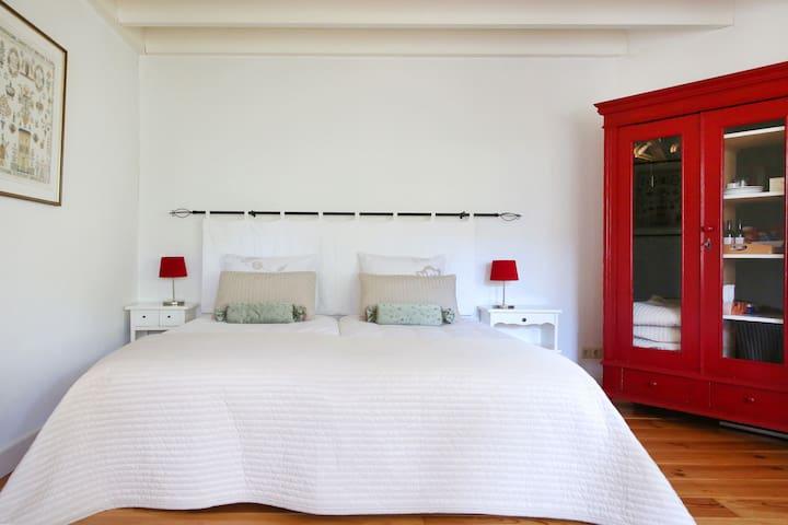 Sfeervolle kamer met terras - B&B Dijkhuis Eersel - Eersel - Bed & Breakfast