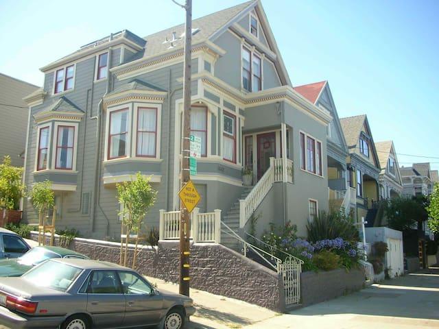 Sunny Corner Noe Valley Victorian - San Francisco - Casa