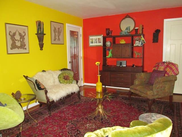 Stylish and comfortable brick ranch - Decatur - Casa