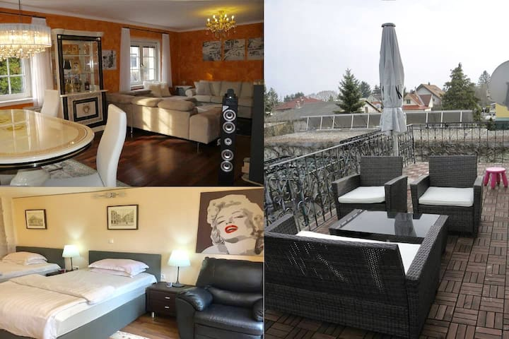luxurious house, 21 minutes to the city center - Gerasdorf bei Wien - Hus