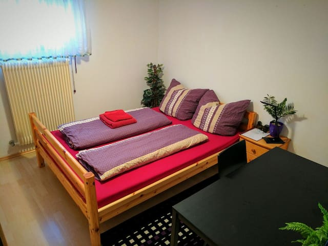 Privat room in Würzburg-Versbach with own bathroom - Würzburg - Apartmen