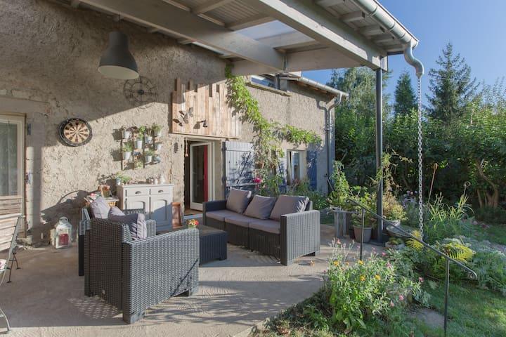 Chambre dans site calme champêtre - Pommérieux, Alsace-Champagne-Ardenne-Lorraine, FR - Huis