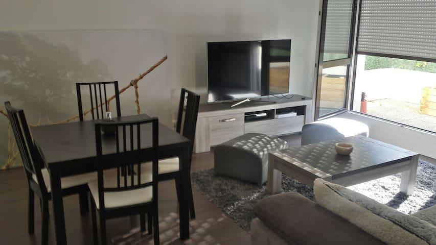 2 pièces tout confort avec terrasse - Plaisir - Appartement