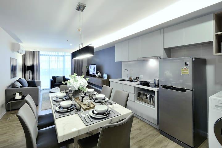 摩登家庭套房/Modern Family Suite - Бангкок - Квартира