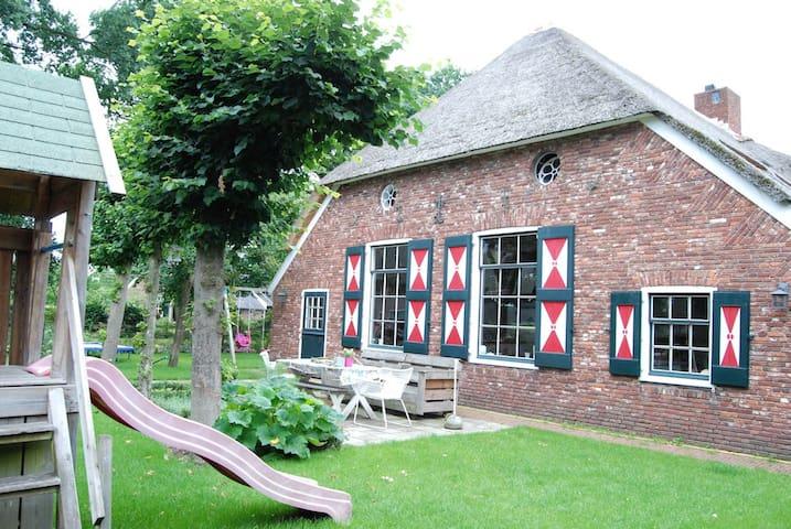Modern verbouwde authentieke woonboerderij - Hellendoorn - Vakantiewoning