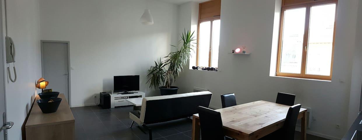 appartement  proximite gare et A47 Saint Etienne - Saint-Chamond - Apartment