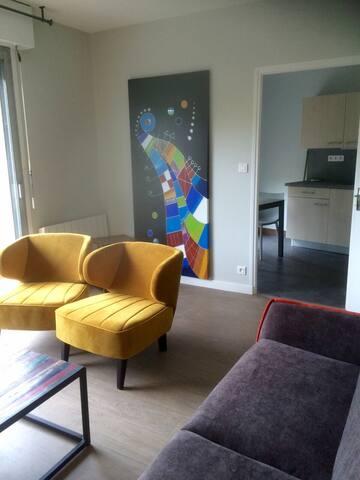 T2 spacieux proche  musée Soulages - Rodez - Apartamento