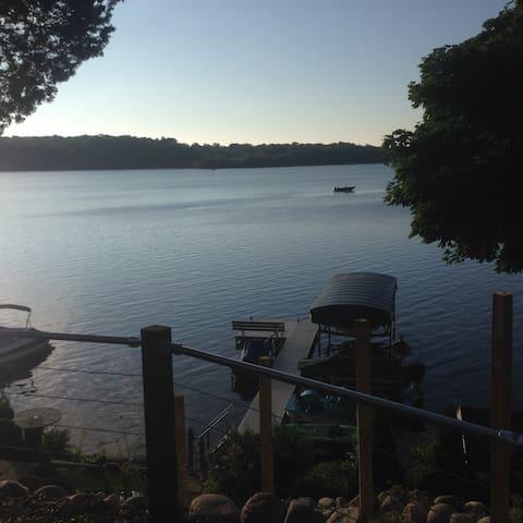 Big Cedar Lake Home for US Open near Erin Hills - West Bend - Casa