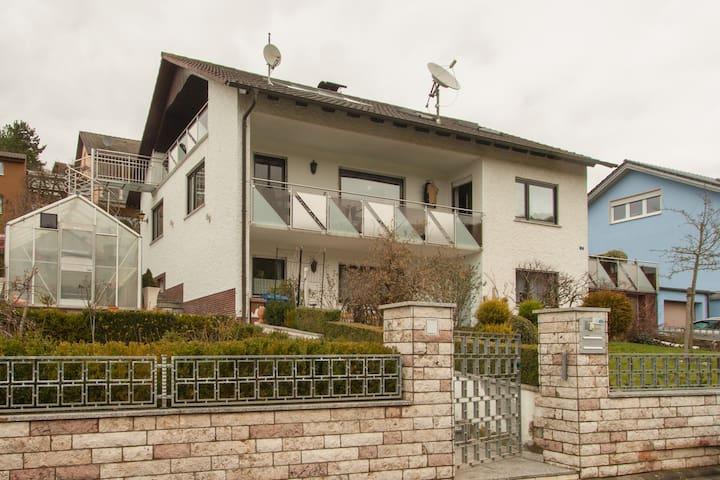 Appartment- im Weinort Wirmsthal - Euerdorf - Leilighet