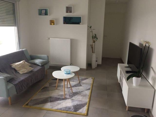 T3 moderne et cosy à proximité de Lyon - Rillieux-la-Pape - Apartemen