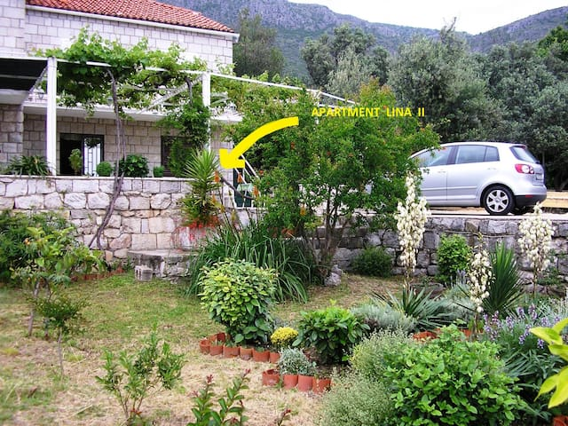 Apartment LINA with sea view/garden - Dubrovnik - Leilighet