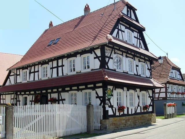 """Gîte**** """"Un des Plus Beaux Villages de France"""" - Hunspach - Appartement"""