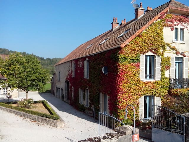 Maison de Maître- Maison Papotte - Bligny-sur-Ouche - Villa