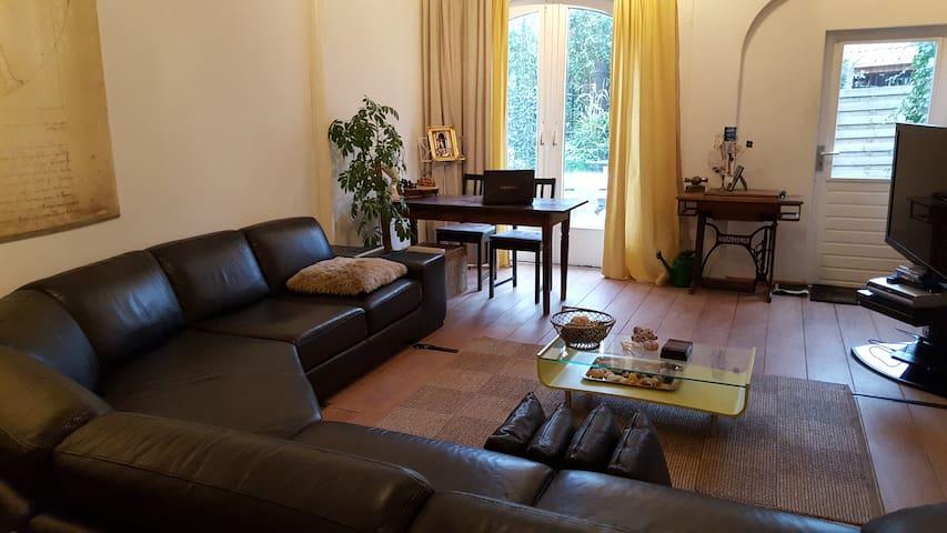 Beautiful apartment with big garden - Naarden - Departamento