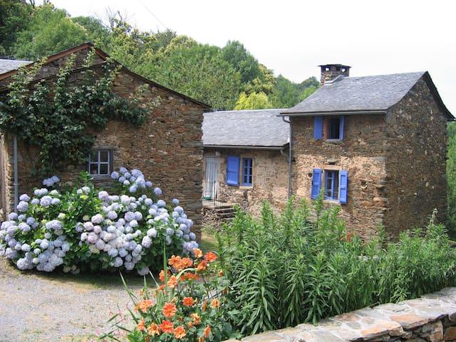 """Ancienne ferme rénovée """"maison au  volets bleu"""" - Curvalle - Hus"""