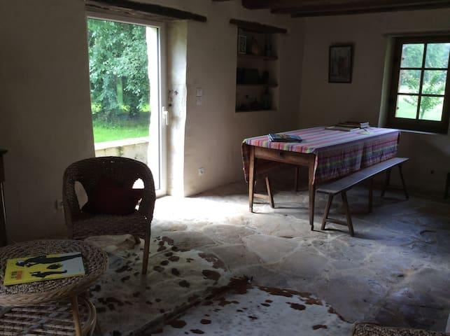 Chambres dans gîte campagne sarthoise - Roézé-sur-Sarthe - Ev