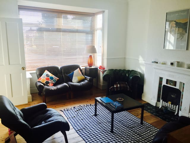 Stylish period terrace in west Hull village - Anlaby - Huis
