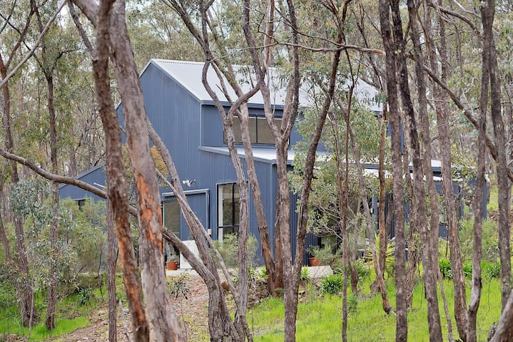Castlemaine Hideaway in the Trees - relax & unwind - Muckleford - Talo