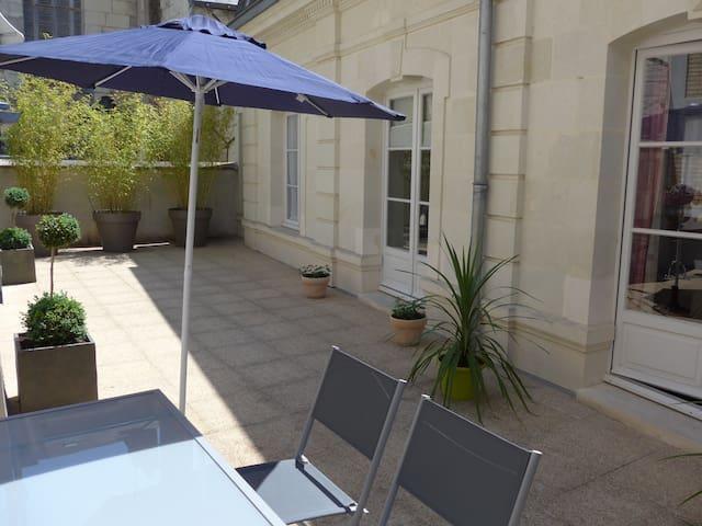Gîte meublé 4**** ,  au cœur de Saumur - Saumur