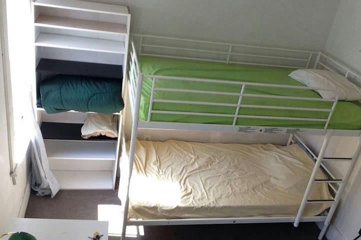 Private (w3) Bunk-Bed room - Åkersberga - Daire