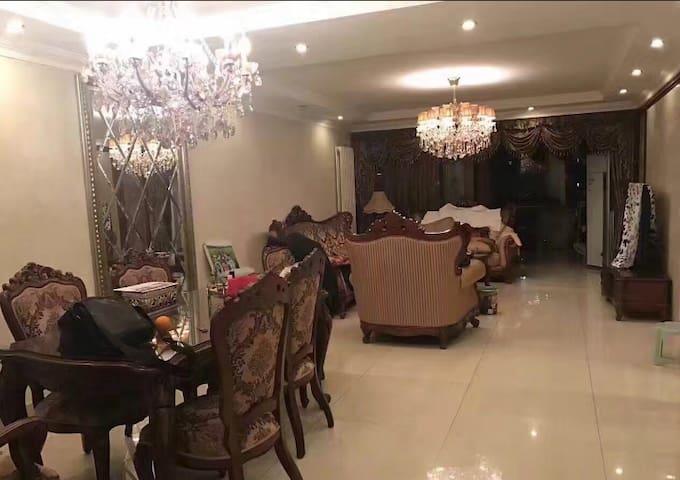 温馨安静整洁独立房间清新阳光超大主卧, - Beijing - Huis