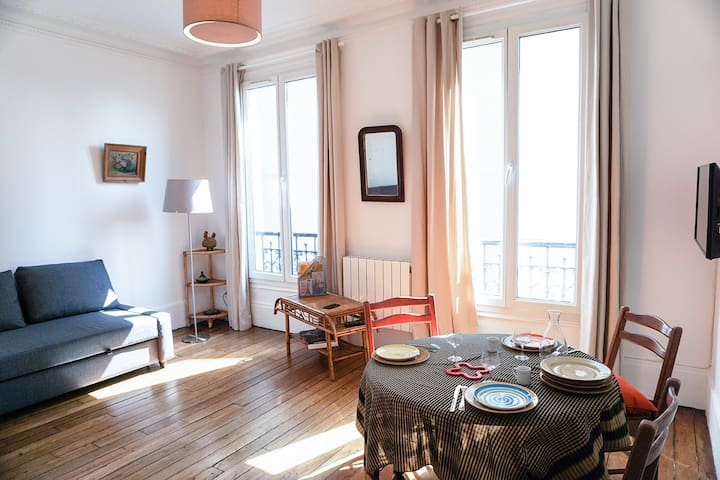 Studio proche de Paris - Le Raincy - Apartament