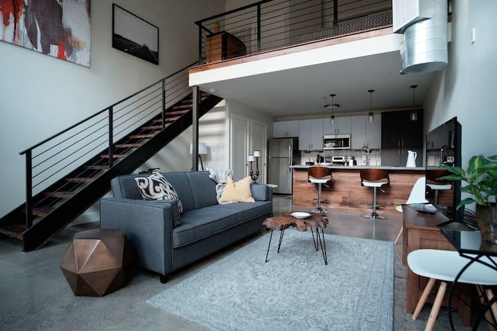 Luxury Loft in Historic Southside District - Chattanooga - Departamento