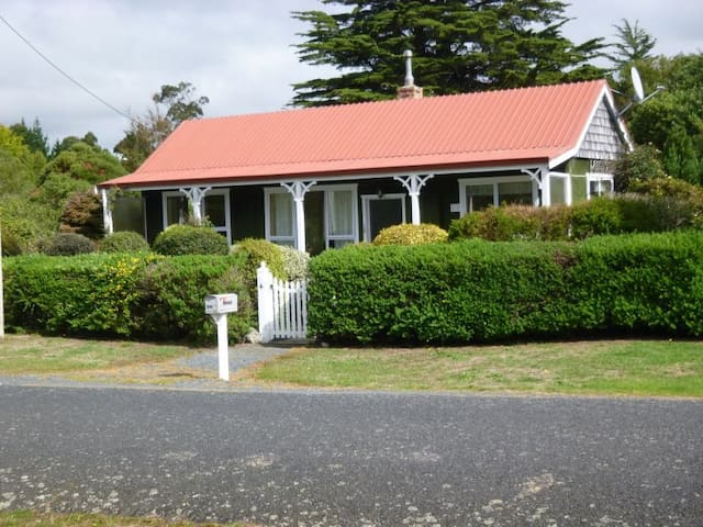 Come and relax on Otago Peninsula - Harwood - Huis