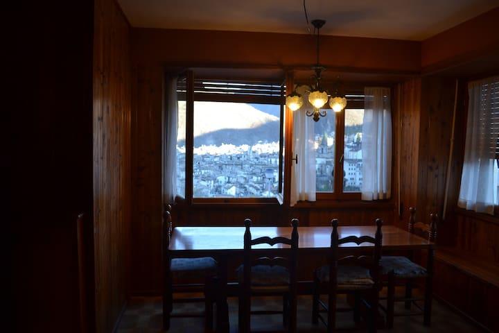 Appartamento panoramico - Scanno - Departamento
