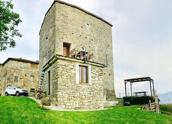 Tuscany medieval hometower - Villa di Sopra - Şato
