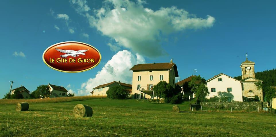 Le Gîte de Giron- Dans le Parc du Haut Jura - - Giron - Apartamento