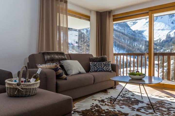 Chalet les Rahâs by Mrs Miggins, Luxury 2 bedrooms - Grimentz - Apartamento