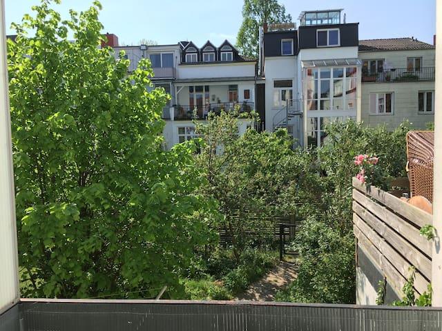 Unterkunft im beliebten Bremer Viertel - Bremen - Lägenhet