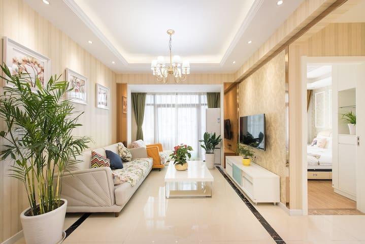 高档小区内豪华景观套房(京华城金鹰旁) - Yangzhou - Maison