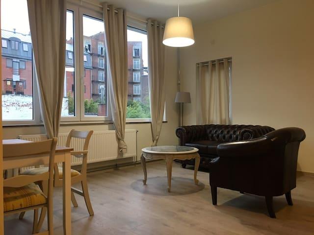 Appartement 1 chambre au coeur de Mons - Mons - Leilighet