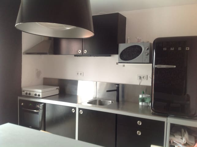 Gezellig retro appartementje - Koksijde - Apto. en complejo residencial