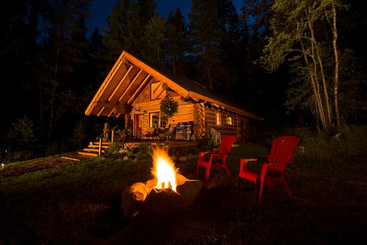 Starfire  cabin & gardens - Amazing - Sagle - Stuga