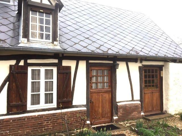 Cottage à la Normande ! - Grosley-sur-Risle - Casa