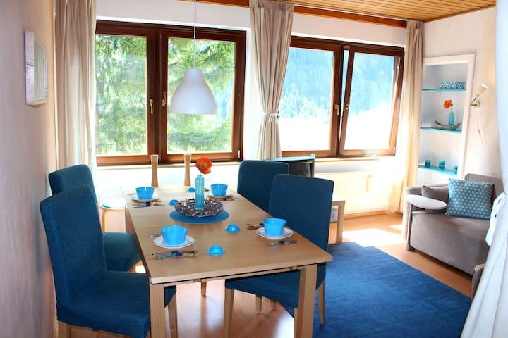 Berghaus Glockner, Apartment with mountain view - Heiligenblut - Lägenhet